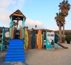 Playground at Jalama Beach