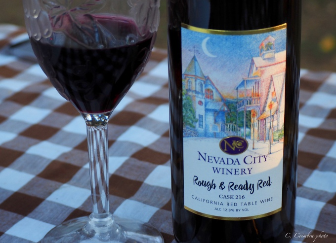 Nevada City red wine
